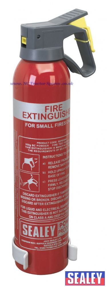 0.95kg Dry Powder Fire Extinguisher - Disposable